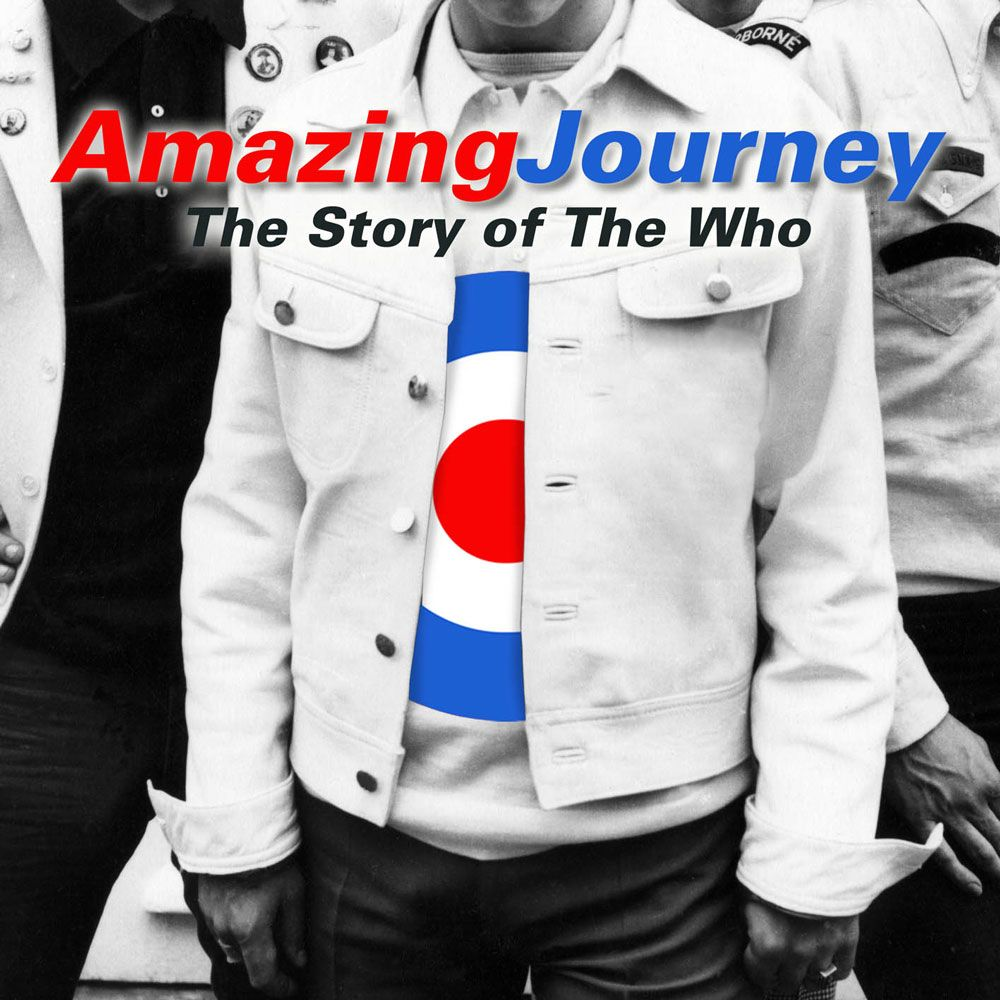 "Cover of the soundtrack to the film ""Amazing Journey - The Story of The Who"""