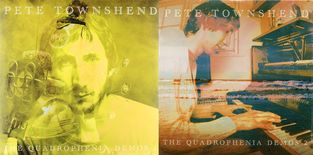 "Covers of Pete Townshend's ""Quadrophenia Demos"" 1 & 2"