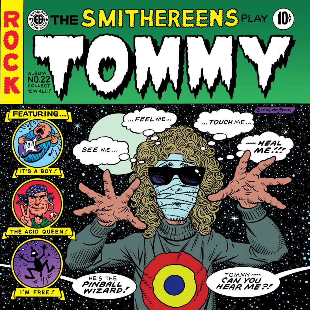 "Cover of the CD ""The Smithereens play Tommy"""