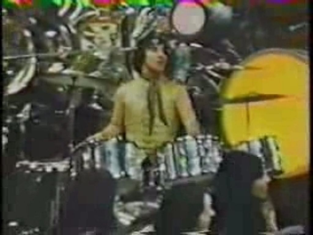 """Keith Moon on """"Surprise Partie"""" which aired on December 31, 1968"""