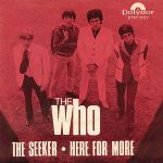 "Cover of ""The Seeker"" backed with Here for More by The Who"