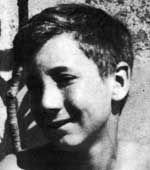 Pete Townshend as a boy