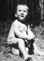 Pete Townshend when he was a baby