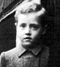 Photo of Roger Daltrey as a young child