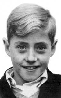 Roger Daltrey as a child