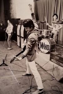 The Who perform at Fyens Forum in Odense, Denmark on June 7, 1966