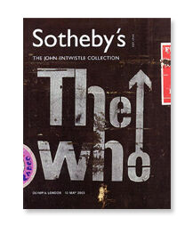 Cover of Sotheby's - The John Entwistle Collection