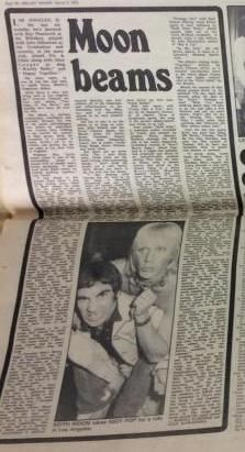"""""""Moon Beams"""" article from Melody Maker on March 8, 1975"""
