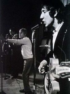 Pete Townshend and Roger Daltrey at The Jigsaw Club in Manchester in February 8, 1966