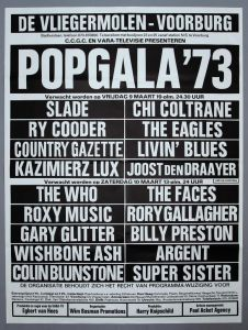 "Ad for ""popGala'73"""