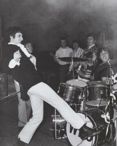 The Who perform at Friedrich-Ebert Halle in Ludwigshafen, Germany on April 12th, 1967