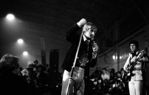 The Who perform at Corn Exchange in Chelmsford, England on April 30, 1966