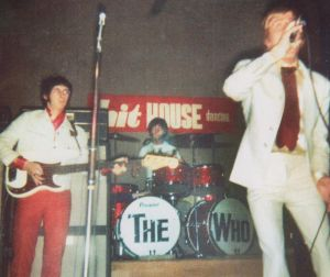 The Who perform at the Hit House inCopenhagen, Denmark on June 7th, 1966