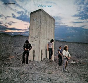 "Cover of The Who's ""Who's Next"" album"