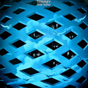 "Cover of The Who's ""Tommy"" album"