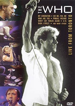 """The Who's """"Live from Toronto"""" DVD"""