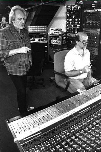 John Entwistle in the studio on May 27, 2001