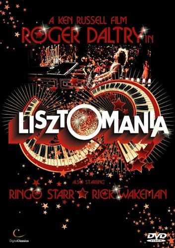 Cover of the Lisztomania DVD released in 2009 in the U.K.