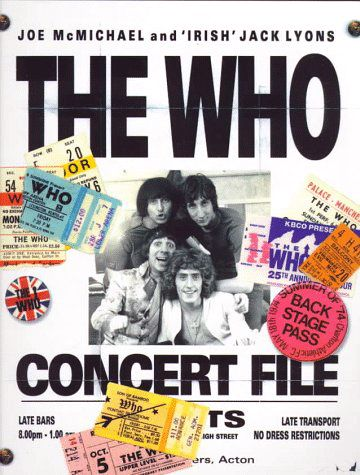 "Cover of the book ""The Who Concert File"""