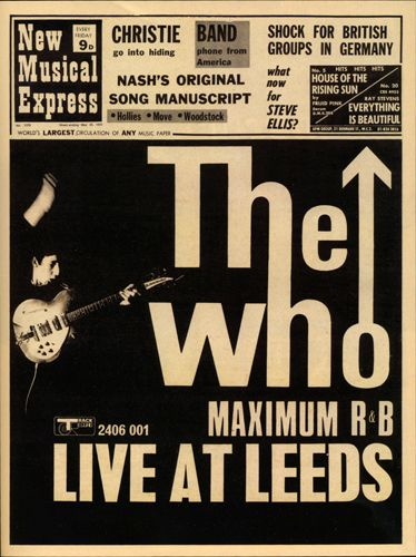 Cover of the May 23, 1970 issue of New Musical Express