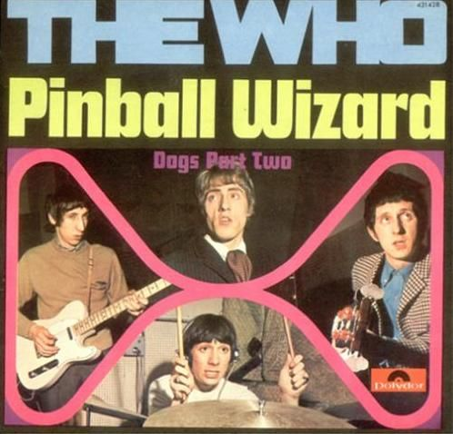"""Swedish """"Pinball Wizard"""" backed with """"Dogs Part Two"""" single"""