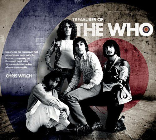 """Cover of the book """"Treasures of The Who"""""""