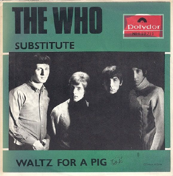 """The Who's """"Substitute"""" single from Sweden"""
