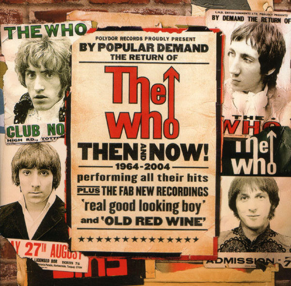 "Cover to The Who's ""Then and Now"" album"