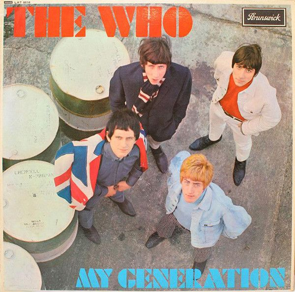 """Cover of The Who's """"My Generation"""" album"""
