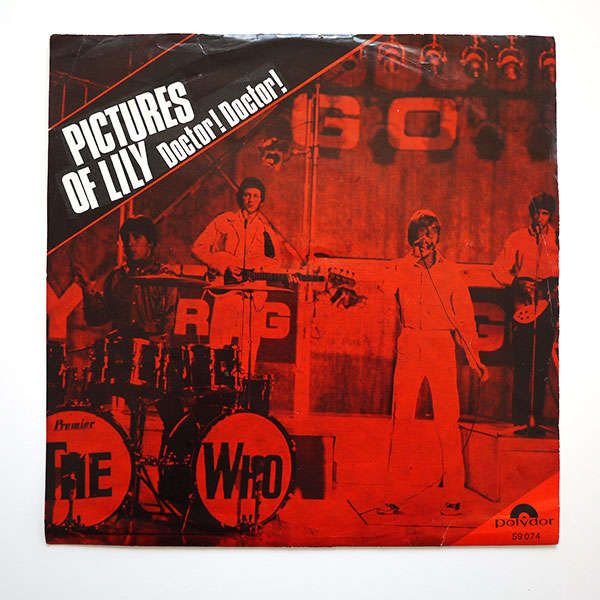 "The Who's ""Pictures of Lily"" single"