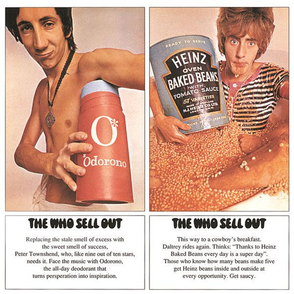 """Cover of The Who's """"The Who Sell Out"""" album"""