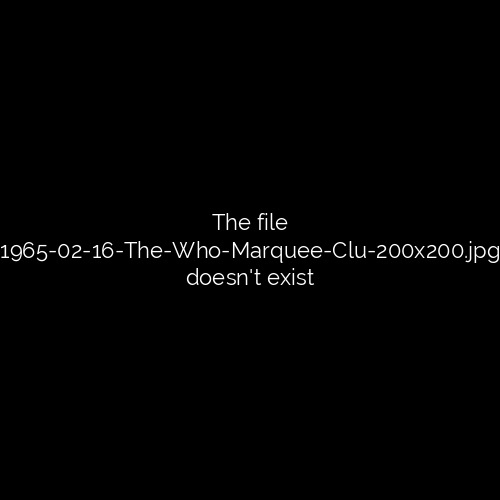 1965-02-16 - The Who - Marquee Club