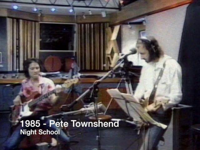 1985 – Pete Townshend –  Night School