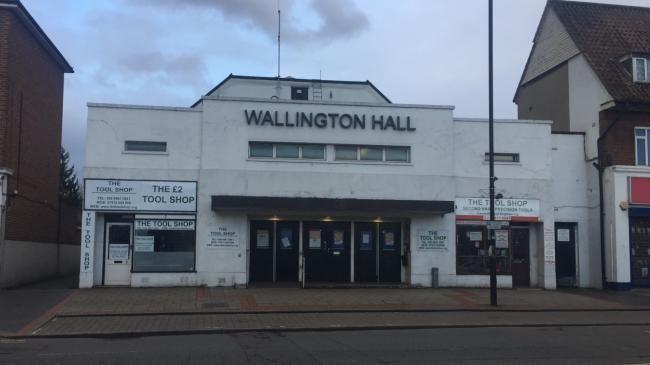 Public Hall in Wallington as it appeared in the 2000s