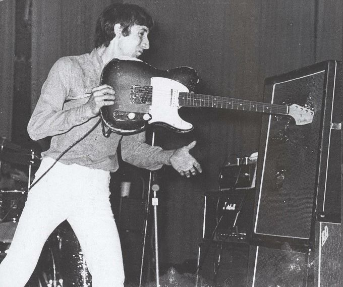 The Who perform at Oberrheinhalle in Offenburg, Germany on April 17th, 1967