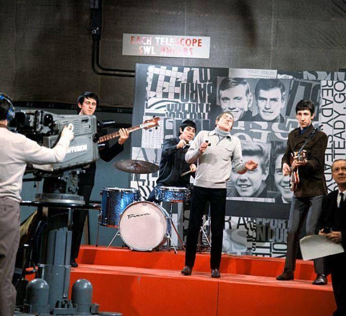 The Who on Ready Steady Go on January 29, 1965