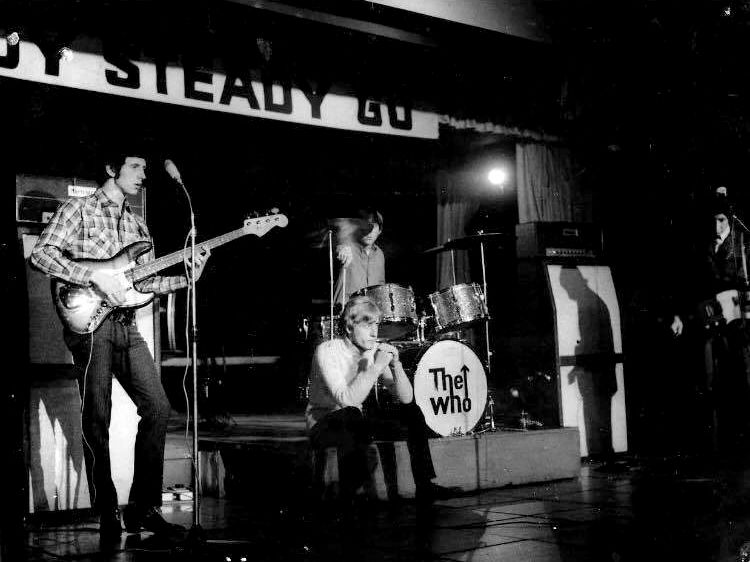 Photo of The Who's April 1st or 2nd 1966 concert in Paris