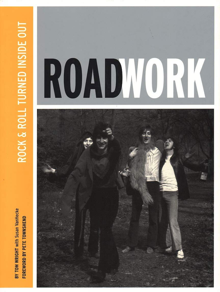 "Cover of the book ""Roadwork: Rock & Roll Turned Inside Out"""