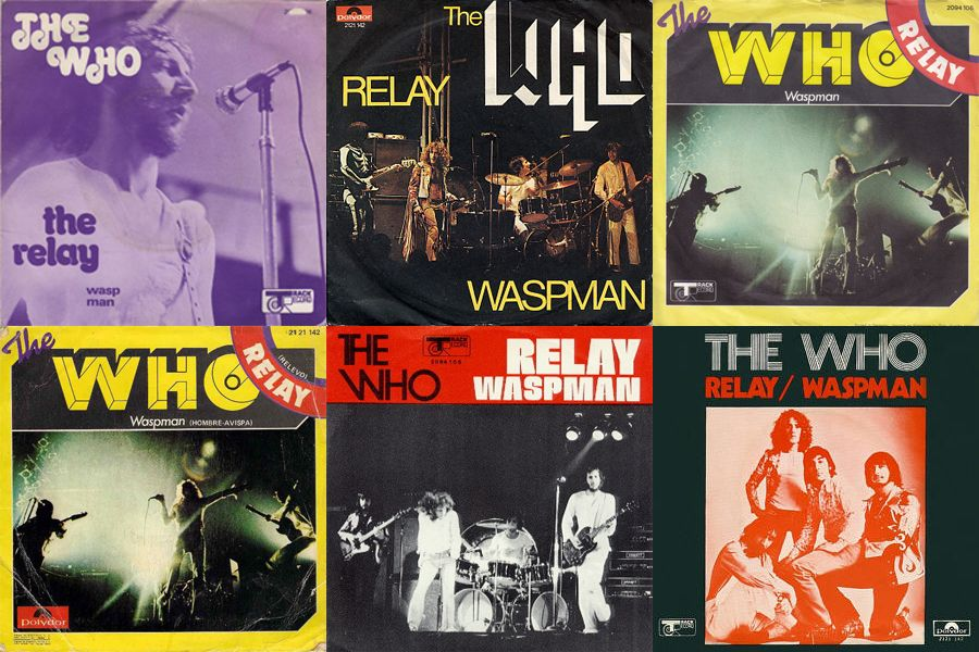 """6 Covers of The Who's """"Relay"""" single from around the world"""