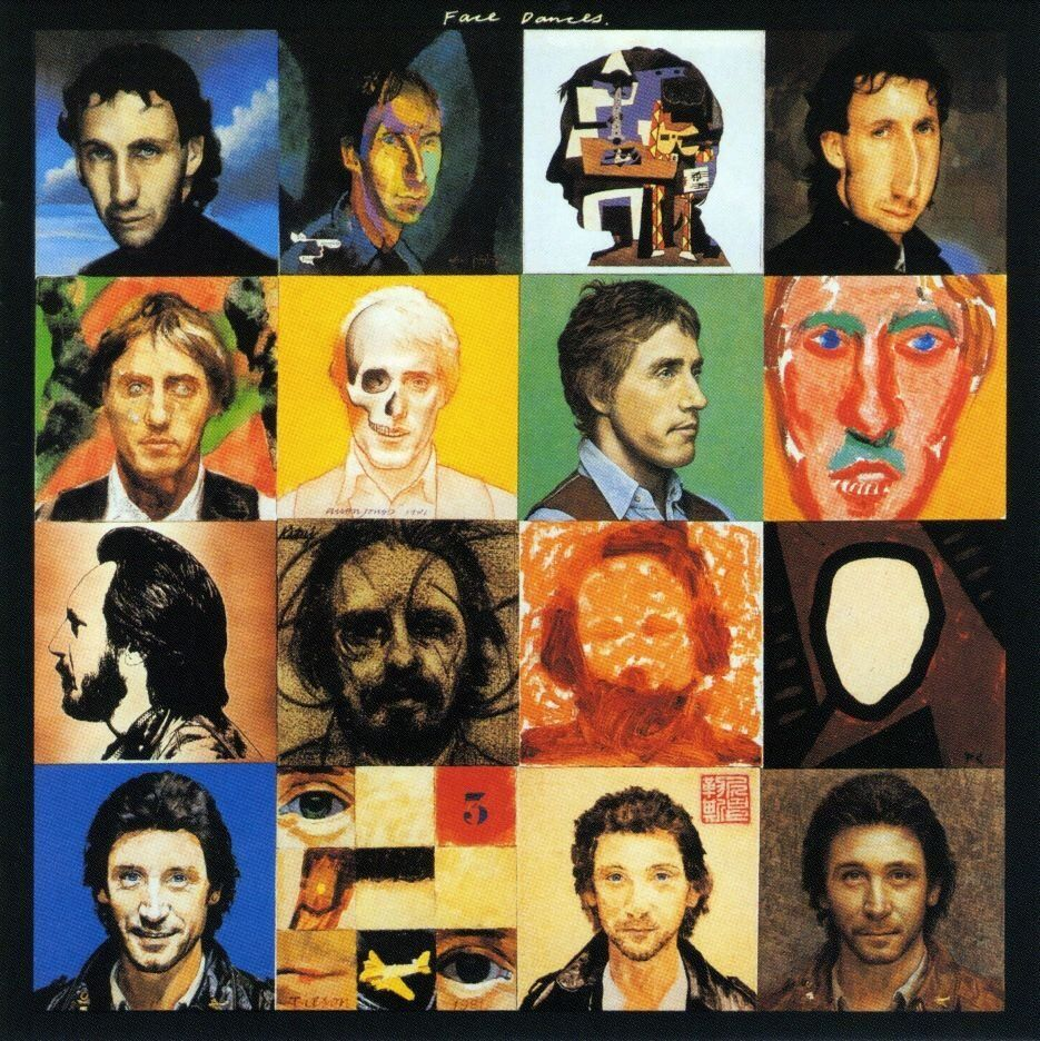 "Cover of The Who's ""Face Dances"" album"