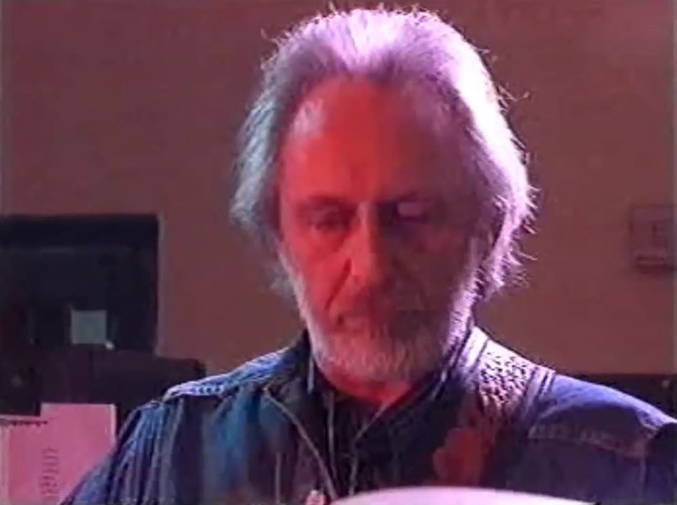 Screengrab of John Entwistle playing with the Stowaways
