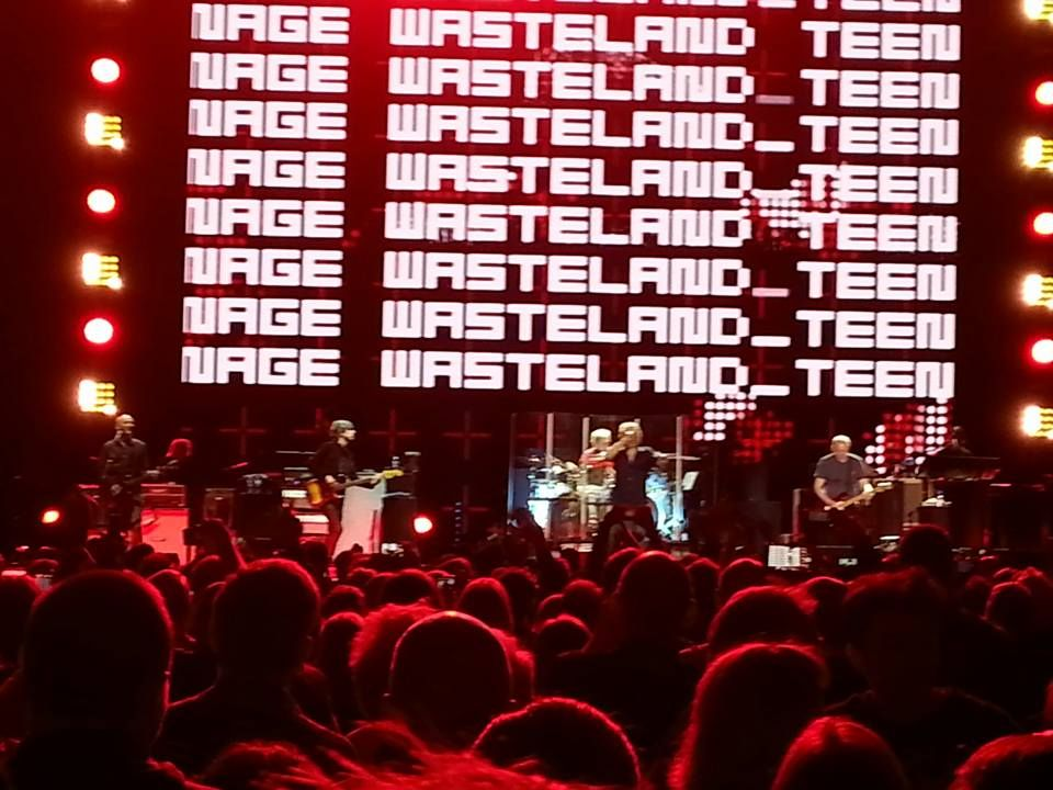Photo of The Who performing on April 3, 2017